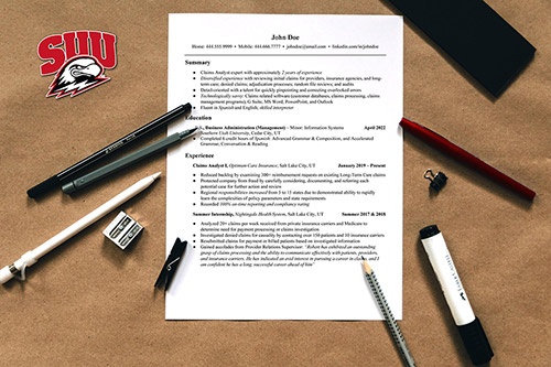 Resume Cover Letter And Reference Writing Career Services Suu