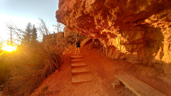 red rock hiking student college outdoor nation campus challenge