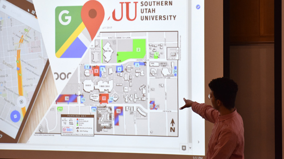 Winner of Business Pitch Contest to Create Campus Map App | SUU on
