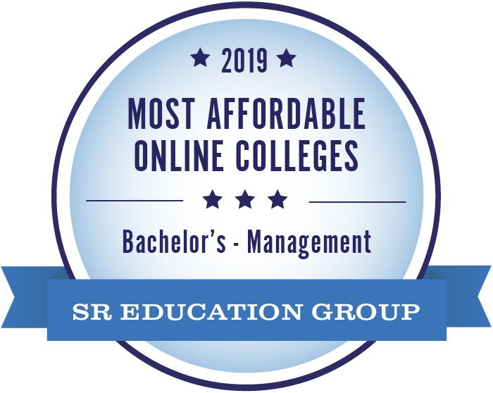 2019 3rd Most Affordable Online Bachelor's of Management Degree