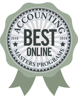 Ranked in the top 15 online Master of Accountancy Programs