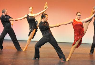 Company Members | Ballroom Dance Company | College of Performing ...