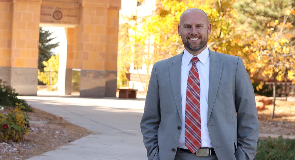 Dr. Jared N. Tippets, Vice President for Student Affairs