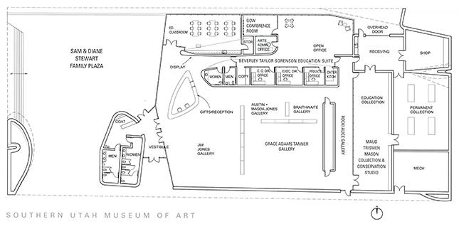 The Suma Building Southern Utah Museum Of Art College